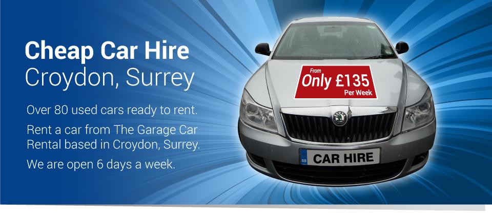 Cheap Car Rental Croydon