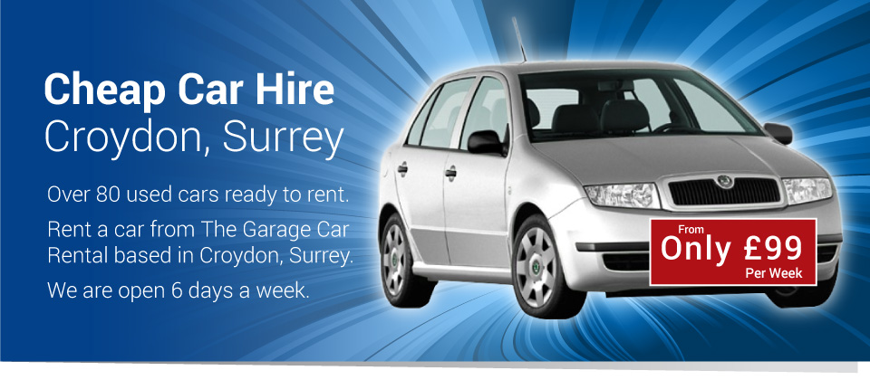 The Garage Car Rental Croydon